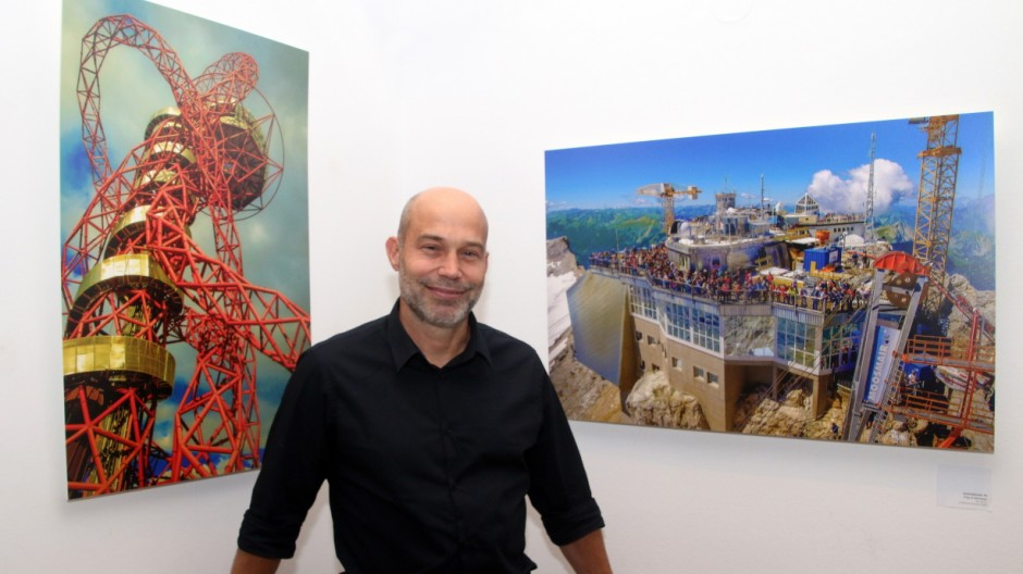 Ramm macht Fotos bewußt kitschig; Ramm-Ausstellung im bosco
