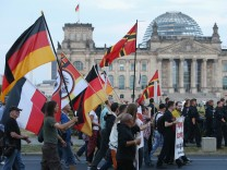 Pegida Supporters March In Berlin