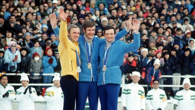 OLYMPIA '72: SIEGEREHRUNG NORDISCHE KOMBINATION