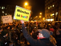 Anti-Muegida Demonstration in München, 2015
