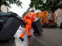 Städtische Müllabfuhr in München, 2016
