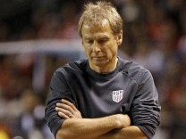 USA coach Jurgen Klinsmann during the USA World Cup 2018 Qualifier match against Costa Rica in San Jose, Costa Rica