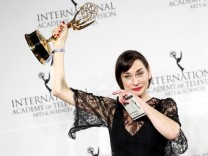 Press Room - 44th International Emmy Awards