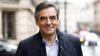 Francois Fillon in Paris November 21 2016 Paris France Candidate for the right wing Les Republ