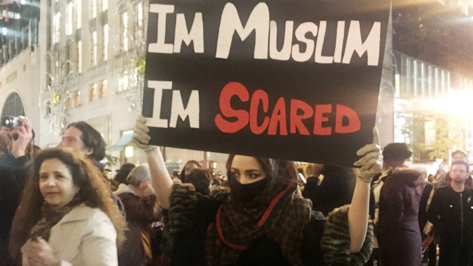 Proteste gegen Donald Trump
