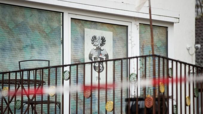 Vor diesem Haus in Georgensgmünd erschoss ein