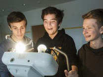 Neubiberg, Emile Montessori Schule, Projektwoche zum Thema Weltklima/Energie,