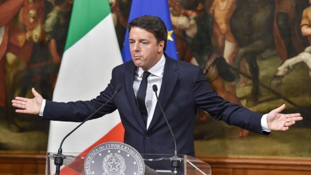 Matteo Renzi Italien