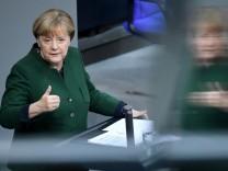 German Bundestag debates 2017 budget