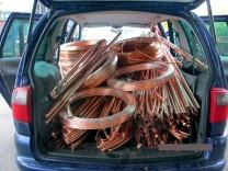 Organisierte Banden stehlen 80 Tonnen Metall