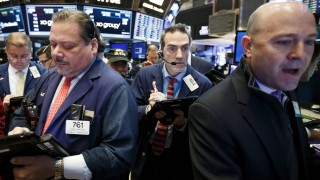 DOW Passes 19,000 New York Stock Exchange