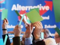 Landesparteitag der AfD Sachsen