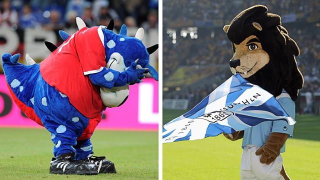 Bundesliga HSV versus 1860