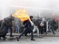 Kurden demonstrieren in der Türkei