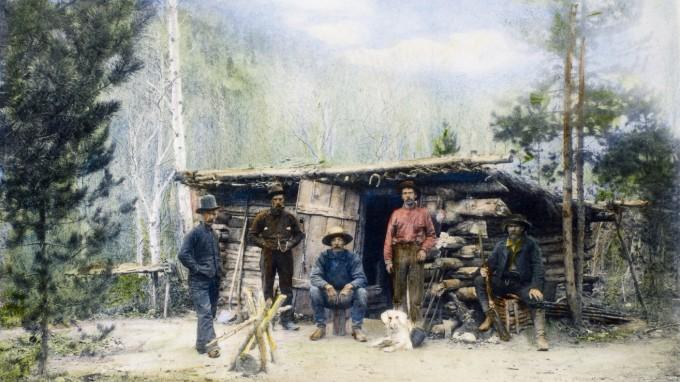 Wie diese Männer schürfte Beale um 1820 in Colorado nach Gold. (Foto: Interfoto)