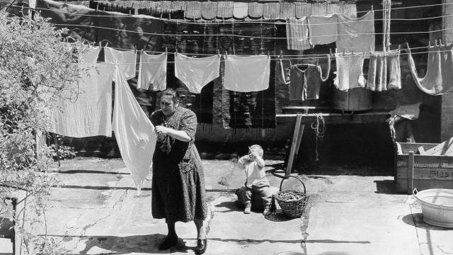 Alltägliches Leben in Lindau, 1950