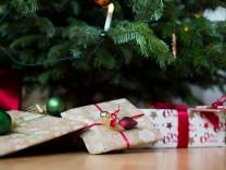 Geschenke zu Weihnachten; gechenke
