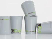 Recup - Zwei Gründer aus Rosenheim wollen mit Mehrweg-Kaffeebechern die Müllberge reduzieren.