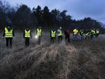 Suche nach Vermissten in Schweden