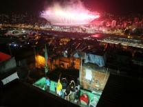 YEAR IN REVIEW  2016 - NEWS - Fireworks Explode Over Rio's Maracana Stadium During The 2016 Olympic Games Opening Ceremony
