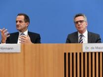 Pressekonferenz zur Reform des Leistungssports