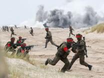 Nato-Manöver an der Ostssee