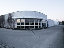 Taufkirchen: Vereinsheim des SV-DJK Taufkirchen im Köglweg (Sport- und Freizeitzentrum); es soll aufgestockt werden.