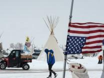 Standing Rock Protest Ölpipeline North Dakota