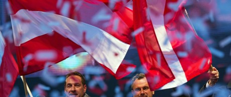 Final Austrian presidential elections campaign