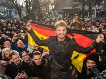 Empfang für Nico Rosberg in Wiesbaden