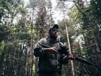 Bärenjagd in Maine