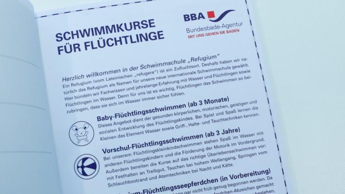 Flüchtlings-Satire zu Bundespresseball, Almanach