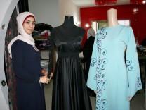 Modedesignerin in Gaza