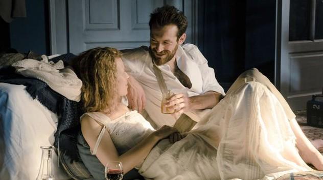 "Szene aus dem Film ""Marie Curie"""