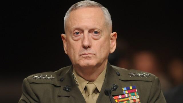 James Mattis Ehemaliger General wird unter Trump Verteidigungsminister