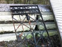 KZ Gedenkstätte Dachau Gestohlenes Tor gefunden