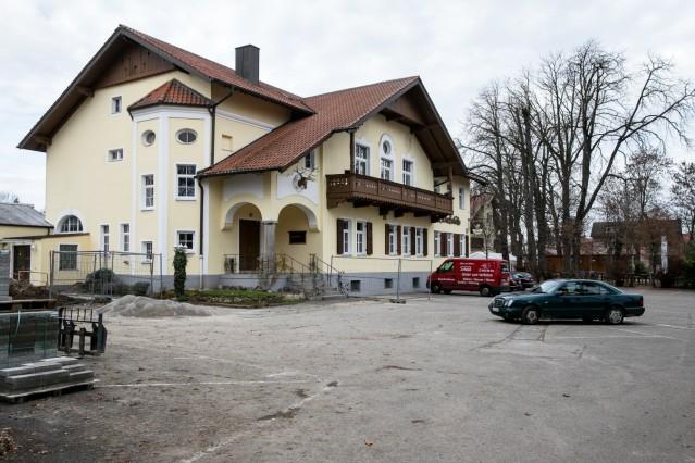 Gasthaus Schießstätte in Allach, Servetstraße 1. Das wird die neue Heimat des Schwabinger Podium