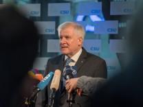 Horst Seehofer vor der CSU-Vorstandssitzung