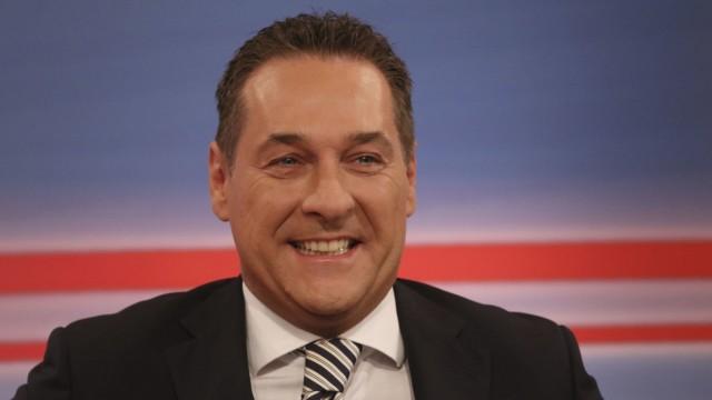 Heinz-Christian Strache Österreich