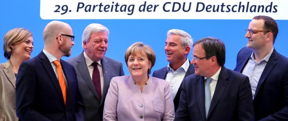 Vorbereitungen - CDU - Bundesparteitag