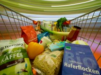 Bioprodukte aus dem Bio-Supermarkt