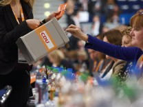Christian Democrats (CDU) Hold Federal Convention