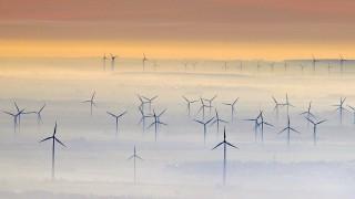 Windkraftanlagen bei Petersberg