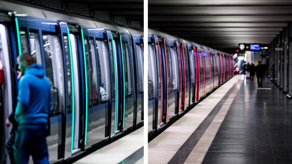 Süddeutsche Zeitung München Moderne Züge