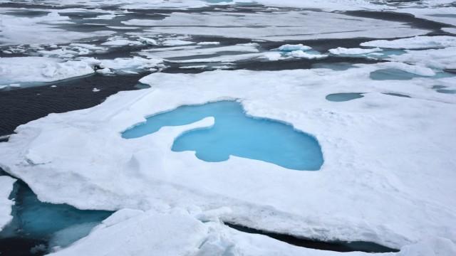 Eis am Nordpol