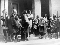 Passionsspiele in Oberammergau (1930).