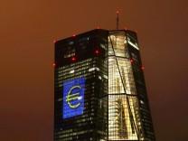 Europäische Zentralbank (EZB) in Frankfurt