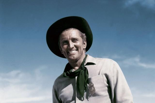 Le desert de la peur Along the Great Divide The Travelers avec Kirk Douglas 1951 western AD00636619
