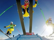 FREESTYLE SKIING FIS SX WC Idre IDRE SWEDEN 14 FEB 16 FREESTYLE SKIING FIS World Cup Ski Cros; Skicross