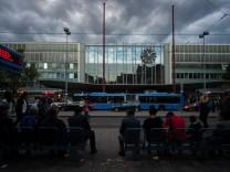 Hauptbahnhof in München, 2014